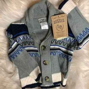 Little Rebels Kid Size 24M Front Button Sweater